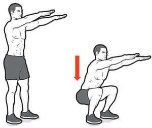 squats_for_knee_stability